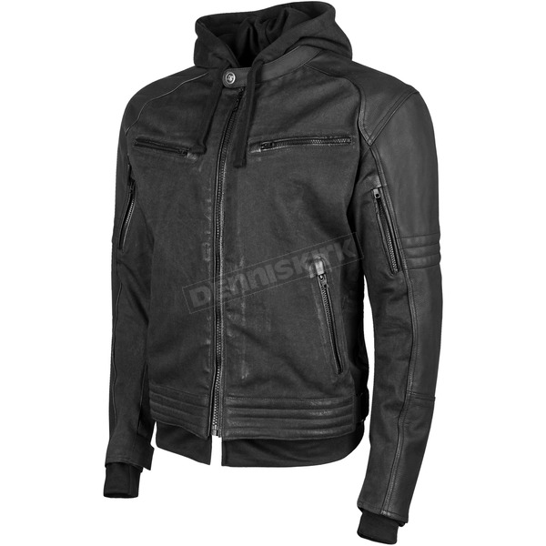 Speed and Strength Black Straight Savage Jacket - 884395