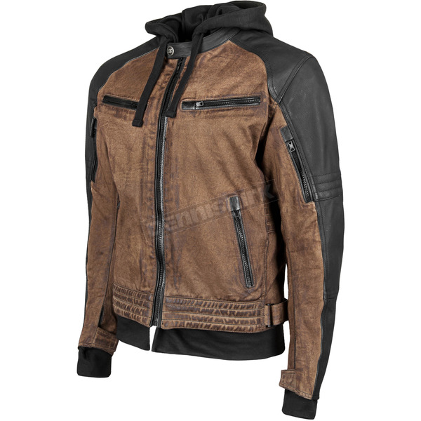 Speed and Strength Brown/Black Straight Savage Jacket - 884407