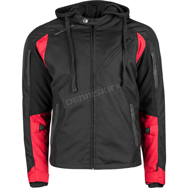 Speed and Strength Black/Red Fast Forward Jacket - 884430