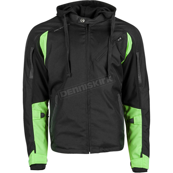 Speed and Strength Black/Hi-Vis Fast Forward Jacket - 884436