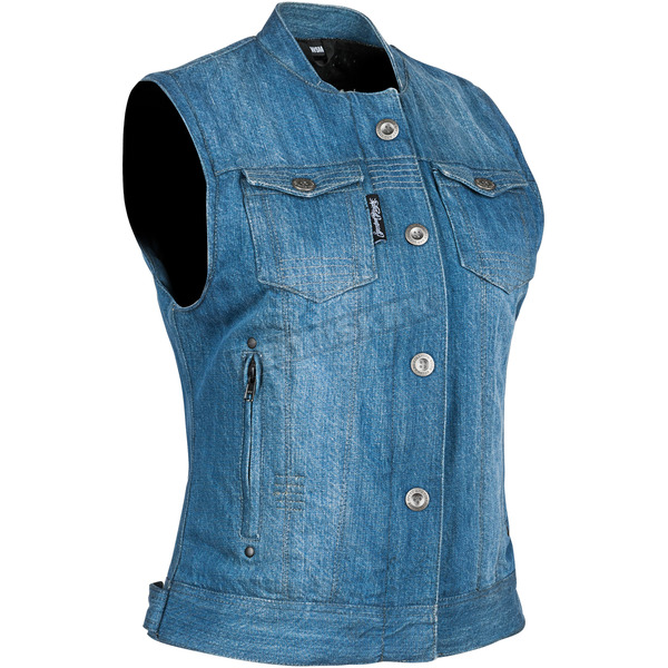 Women's Blue Glory Daze Denim Vest - 884475
