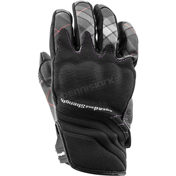 Speed and Strength Women's Black Cross My Heart Gloves - 884509