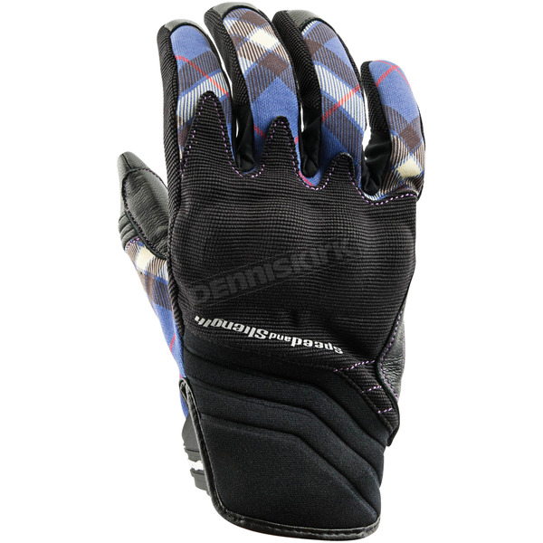 Speed and Strength Women's Purple Cross My Heart Gloves - 884520