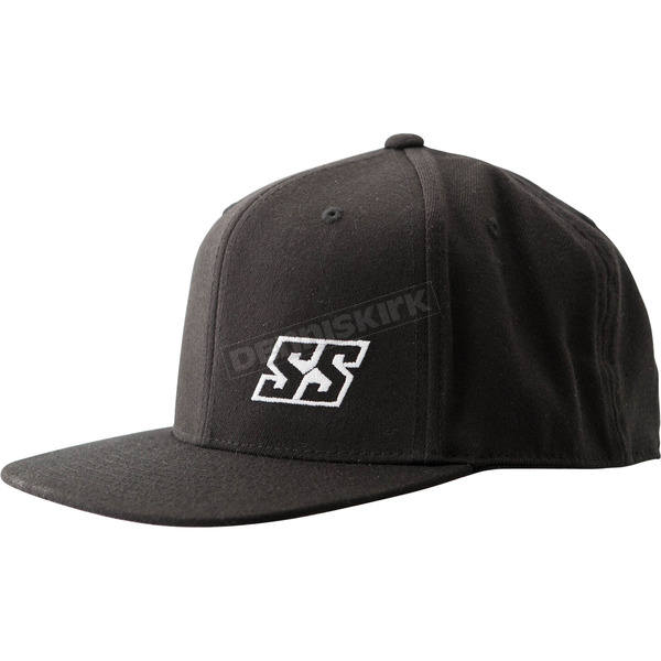 Speed and Strength Black Straight Savage Hat - 884595