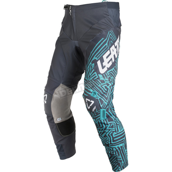 Leatt Gray/Teal GPX 5.5 I.K.S. Pants - 5018750513
