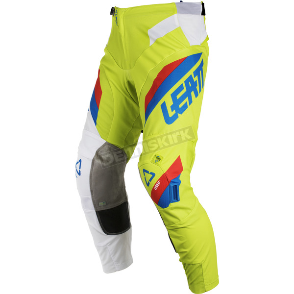Leatt Lime/White GPX 5.5 I.K.S. Pants - 5018750532
