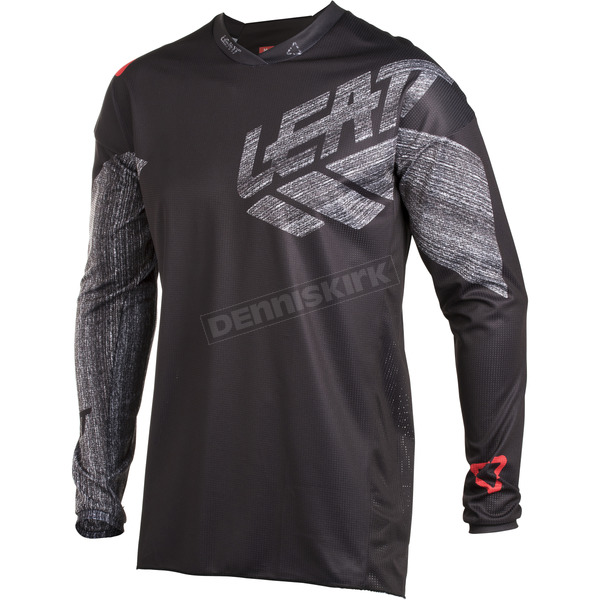 Leatt Black/Brushed GPX 4.5 Lite Jersey - 5018700161