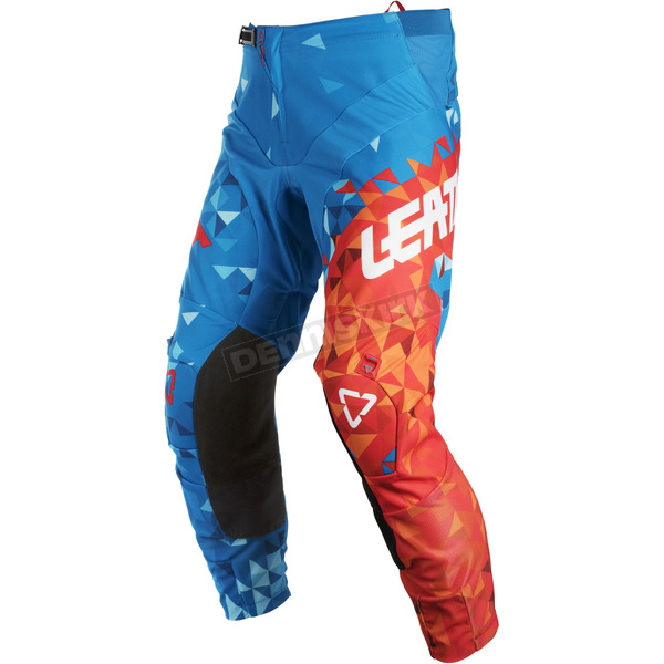 Leatt Blue/Red GPX 4.5 Pants - 5018750575