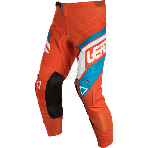 Leatt Orange/Denim GPX 4.5 Pants - 5018750595