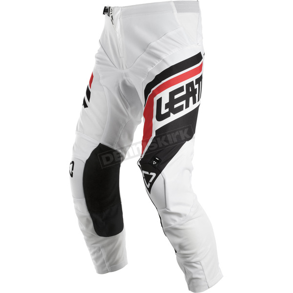 Leatt White/Black GPX 4.5 Pants - 5018750602