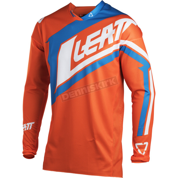 Leatt Junior/Kids Orange/Denim GPX 2.5 Jersey - 5018700282