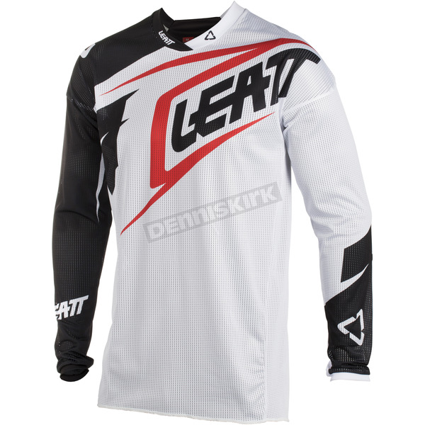 Leatt Junior/Kids White/Black GPX 2.5 Jersey - 5018700294