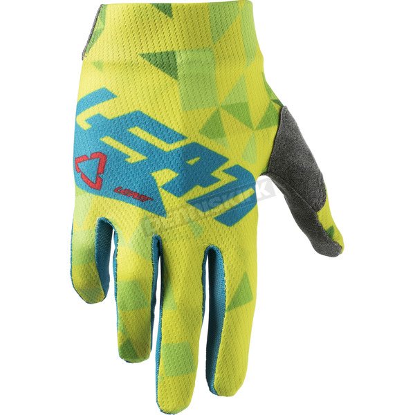 Leatt Junior Lime/Teal GPX 1.5 Gloves - 6018400851