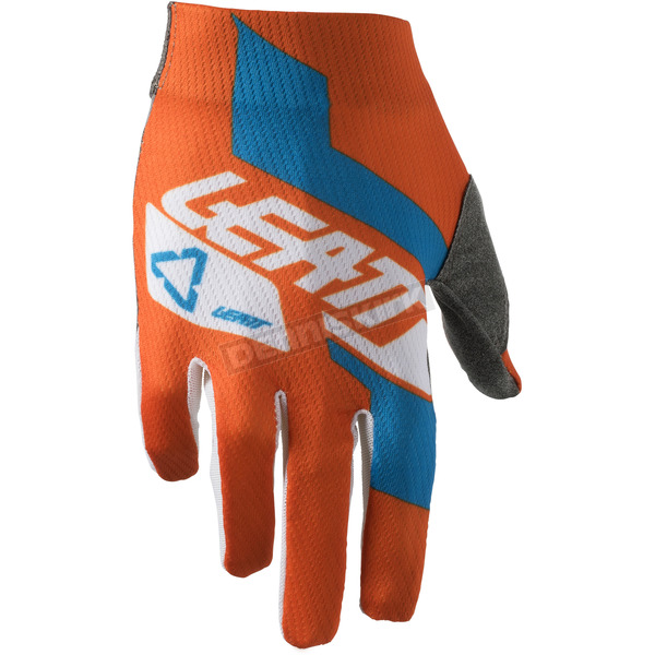 Leatt Junior Orange/Denim GPX 1.5 Gloves - 6018400863