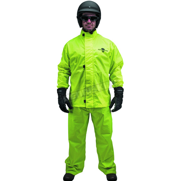 Black Brand Men's Hi-Vis Rainsuit - BB3315