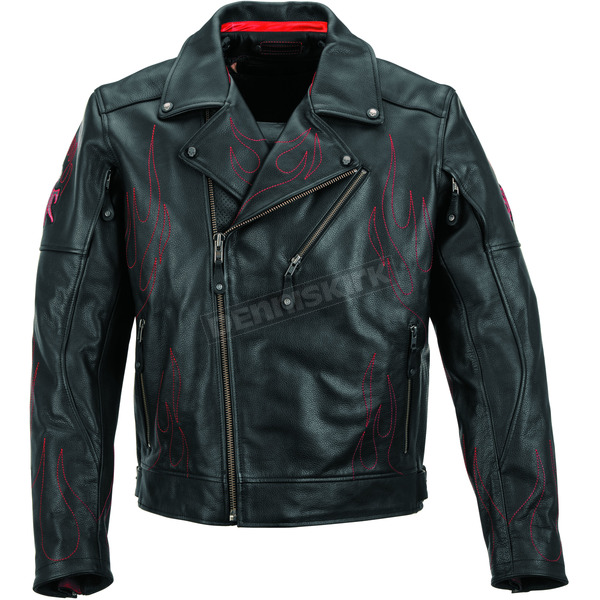 Black Brand Black Spontaneous Human Combustion Jacket - BB3369