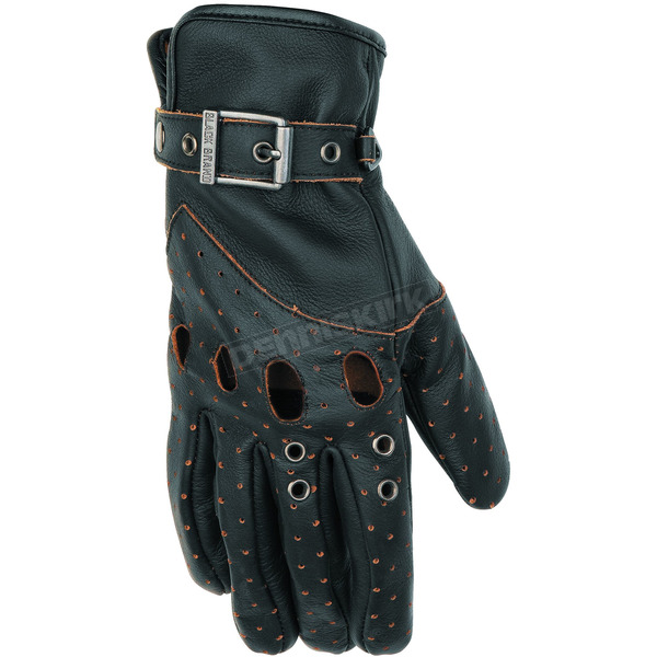 Black Brand Women's Black Vintage Venom Gloves - BB7063