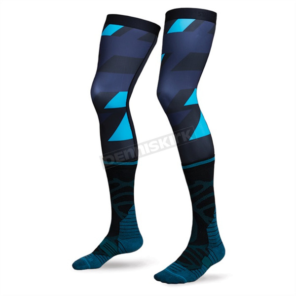 Stance Navy Striker MX Socks - M958A17STR-MD