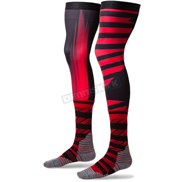 Stance Red Dusk Moto MX Socks - M958C17DUS-MD