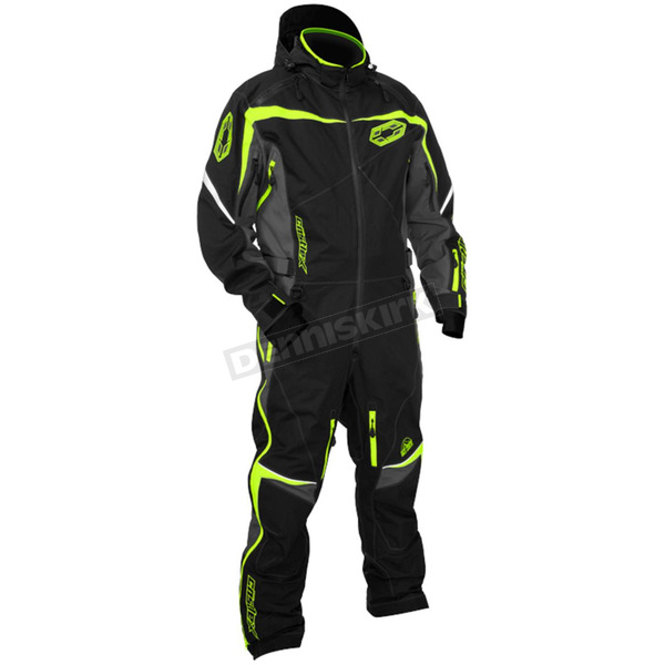 Castle X Black/Hi-Vis Freedom Shell Monosuit - 73-9182