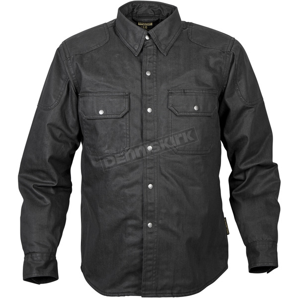 Scorpion Black Riding Waxed Shirt - 13503-7