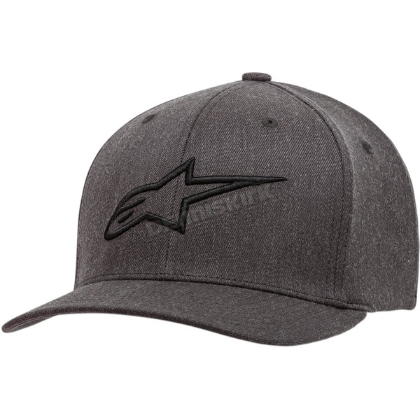 Gray/Black Ageless Curve Hat - 1017810101910LX