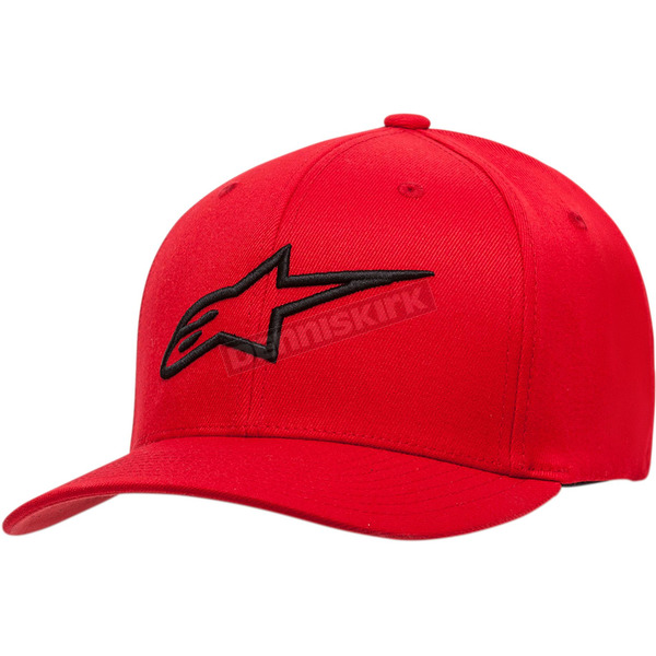 Red/Black Ageless Curve Hat  - 1017810103010LX