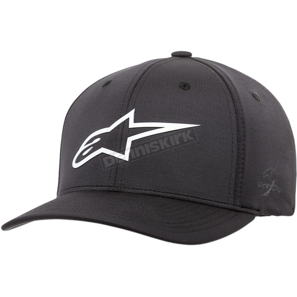 Black/White Ageless Sonic Tech Hat - 1038810021020LX