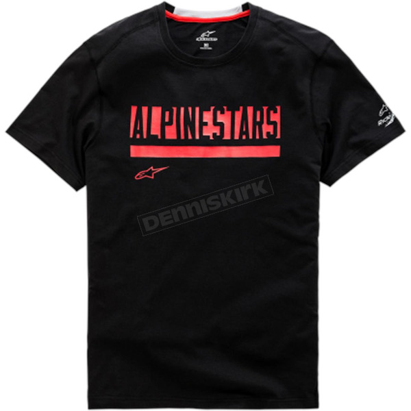 Black Stated Ride Dry T-Shirt - 1038-73005-10-L