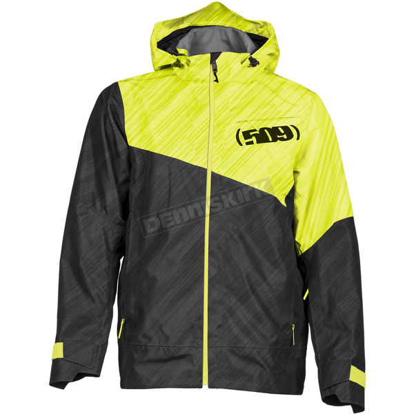 509 Stealth/Hi-Vis Stoke Shell Jacket - F03000800-160-501