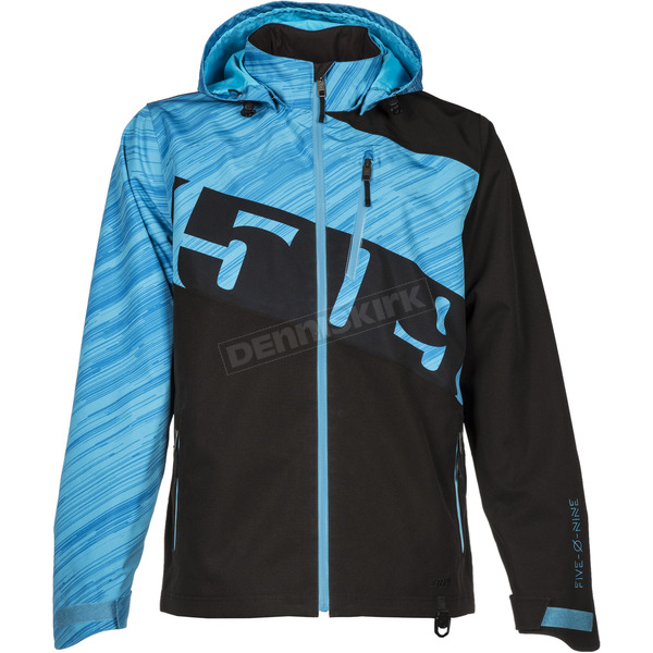 509 Blue Evolve Shell Jacket - F03000600-170-201