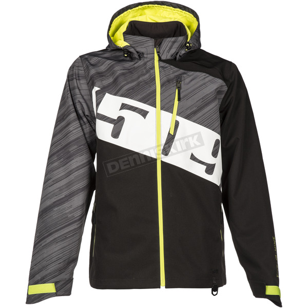 509 Black/Hi-Vis Evolve Shell Jacket - F03000600-110-601
