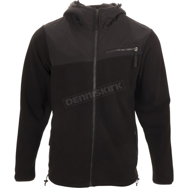 Black Stroma Fleece Expedition Weight Mid-Layer Jacket