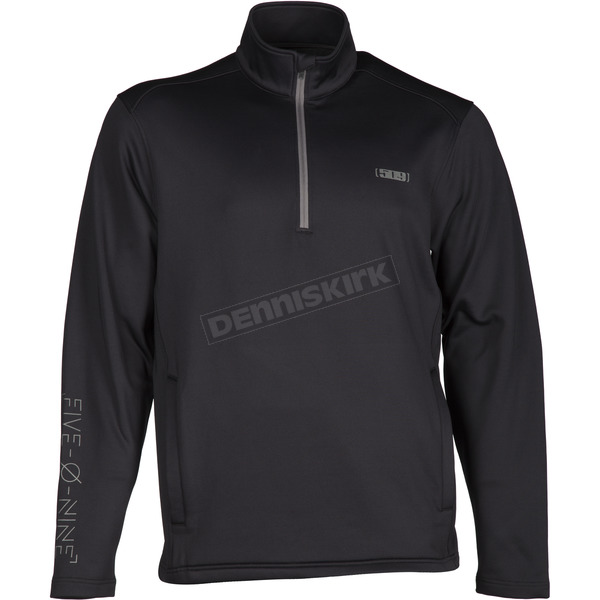 509 Black Stroma Fleece Mid-Layer Shirt - F04000300-150-001