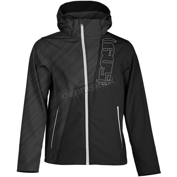 509 Black Ops/White Tactical Softshell Jacket - F09001000-140-801