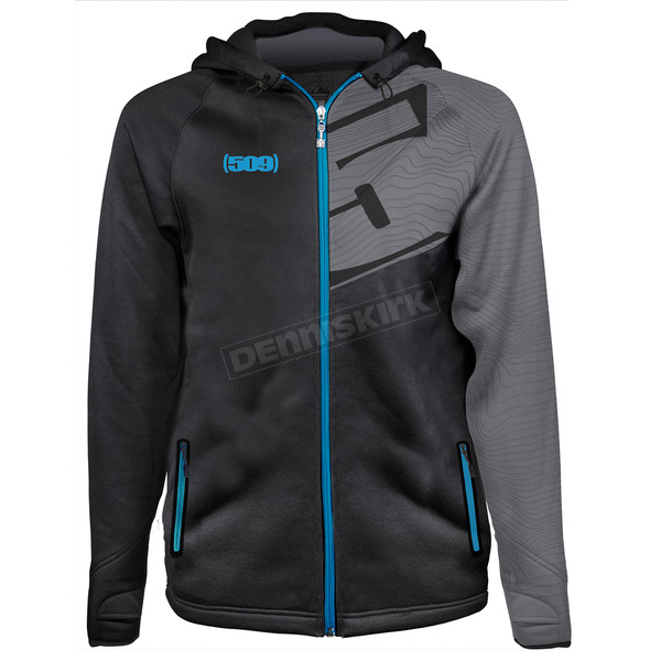 509 Blue Tech Zip Hoody - F09000900-120-201