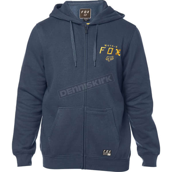 Navy Darkside Zip Hoody