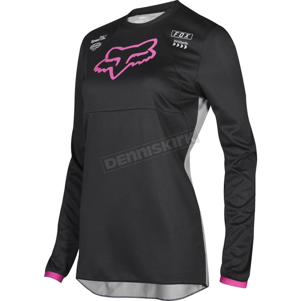 Youth Girl's Black/Pink 180 Mata Jersey
