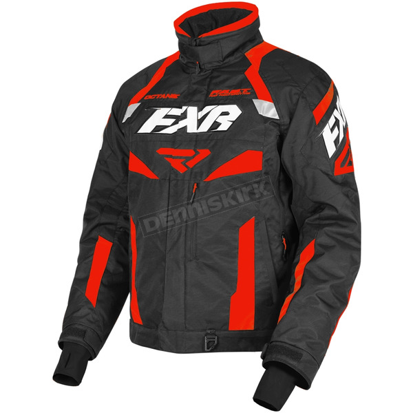 Black/Red Octane Jacket