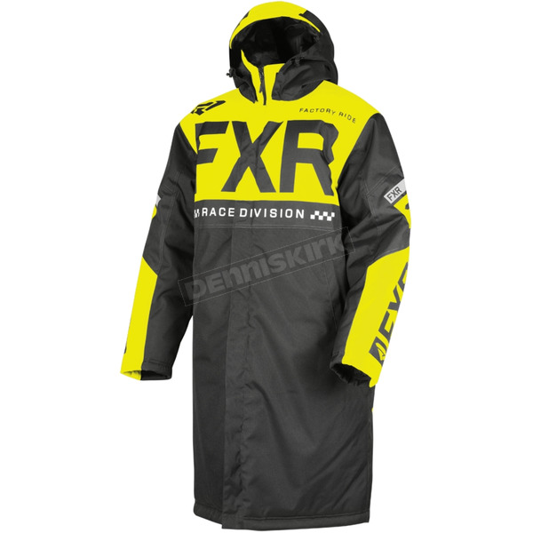 Black/Hi-Vis Warm Up Coat