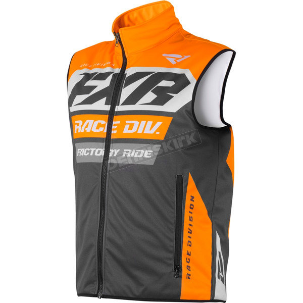 Charcoal/Orange/Gray RR Insulated Vest