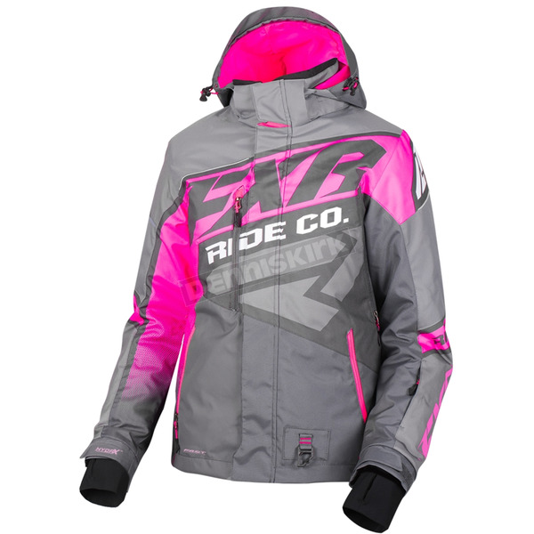 Women's Charcoal/Grey/Electric Pink CX Jacket