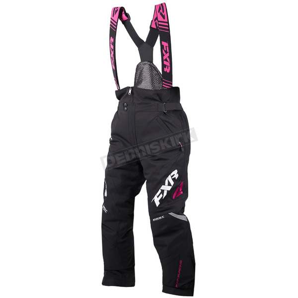 FXR Racing Women's Black/Fuchsia Adrenaline Pant - 190306-1090-10