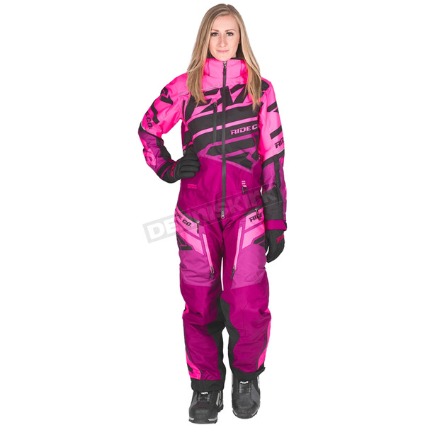 Women's Electric Pink/Wineberry Boost Lite Monosuit