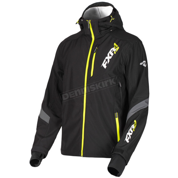 Black/Hi-Vis Renegade Softshell Jacket - 190907-1065-07