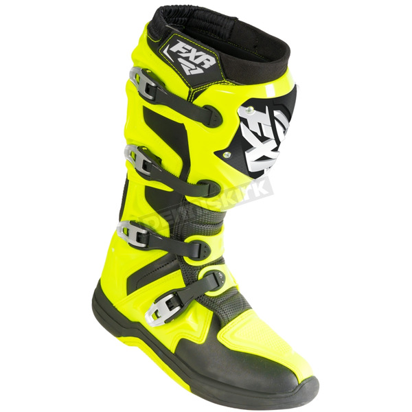 Hi-Vis/Black Factory Ride Boots