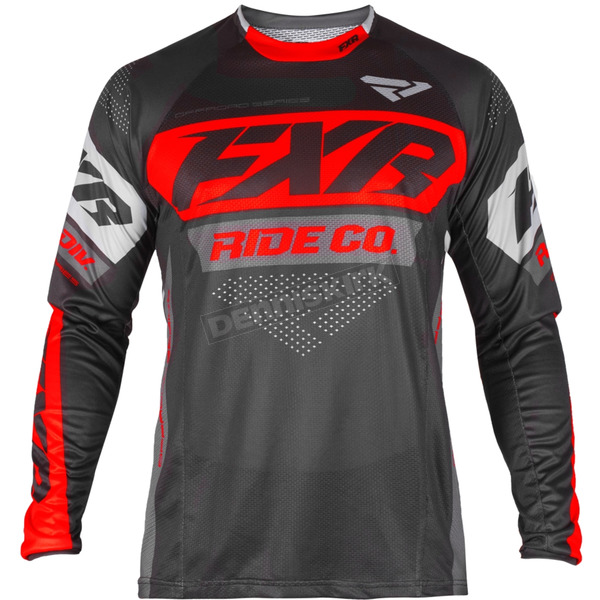 Black/Nuke Red/Charcoal Revo Off-Road Jersey