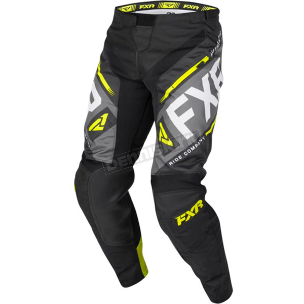 Black/Charcoal/Hi-Vis/LT Gray Clutch Off-Road Pants - 193336-1065-32