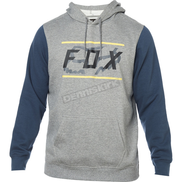 Heather Graphite Determined Pullover Hoody - 24480-185-M