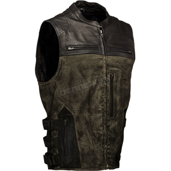 Speed and Strength Olive/Green Tough as Nails Vest  - V#1114-0505-0654